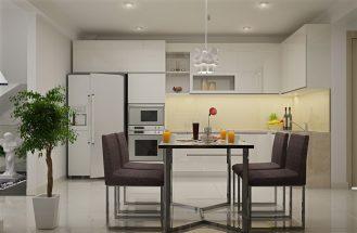 Các mẫu thiết kế phòng bếp đẹp đơn giản cho năm 2018 thumbnail