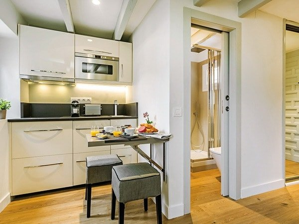 Tư vấn thiết kế phòng bếp và nhà vệ sinh hợp phong thủy cho nhà hẹp post image