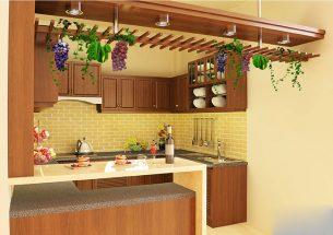 Mẫu thiết kế căn bếp đẹp cho nhà nhỏ đáng xem thumbnail