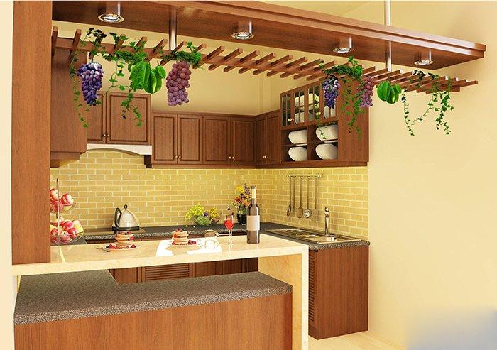 Mẫu thiết kế căn bếp đẹp cho nhà nhỏ đáng xem post image