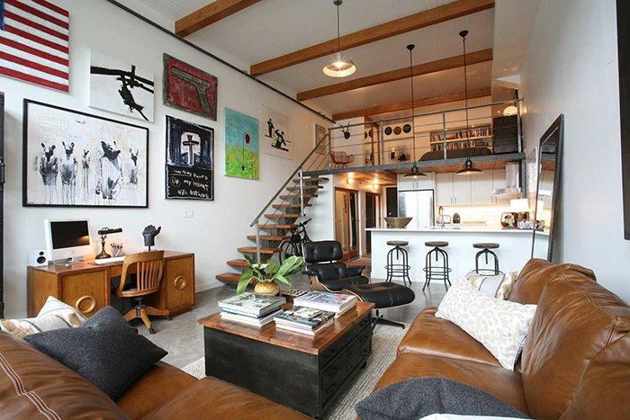 Một số hình ảnh nội thất cho thiết kế nhà ống 1 tầng có gác lửng post image
