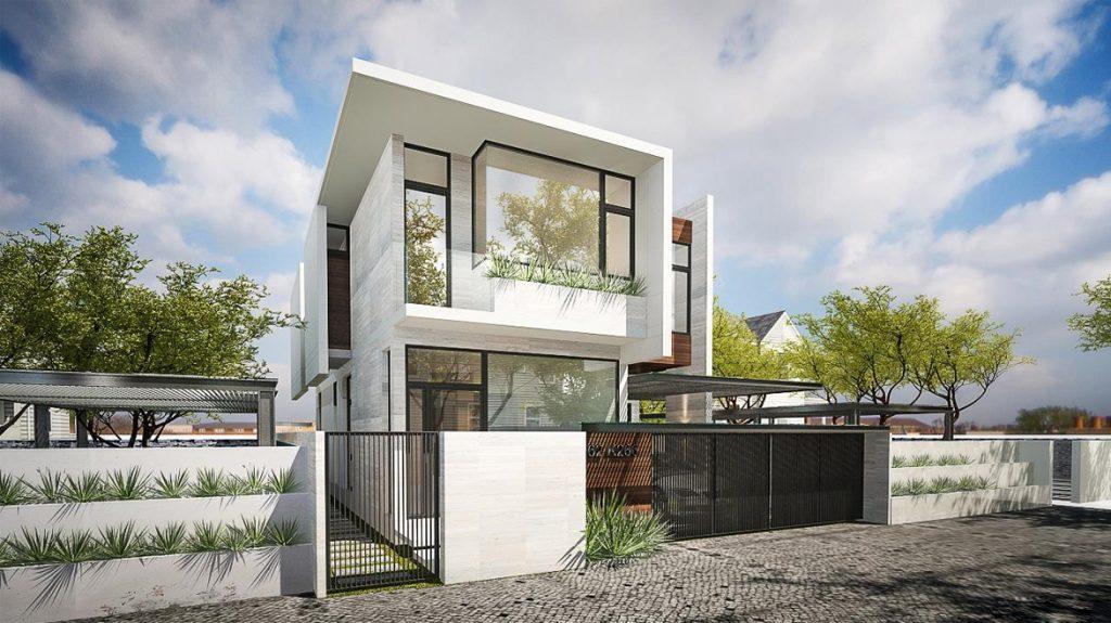 Thiết kế nội thất biệt thự 2 tầng đẹp hiện đại theo phong cách Nhật thumbnail