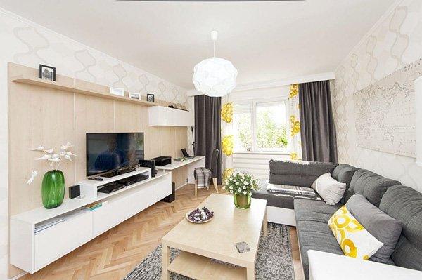Thiết kế nội thất chung cư hiện đại 58m2 theo phong cách Scandinavi post image