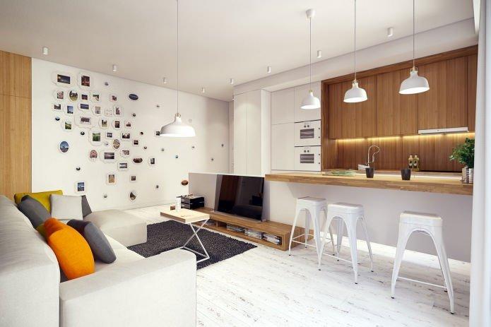 Thiết kế nội thất chung cư theo phong cách hiện đại với gam màu tươi sáng post image