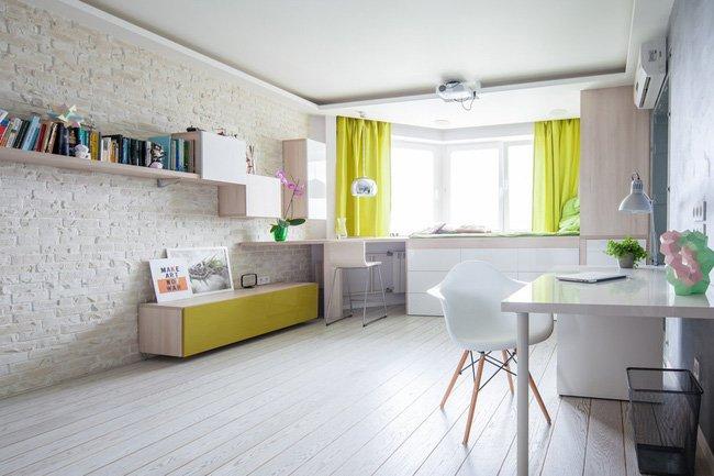 Xu hướng nội thất chung cư đẹp hiện đại 42m2 năm 2018 thumbnail