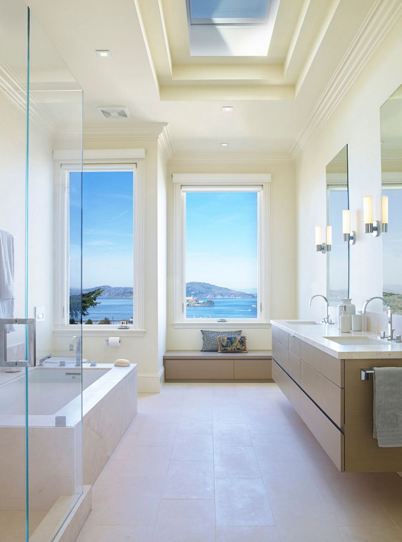 20 mẹo tổ chức phòng tắm đẹp