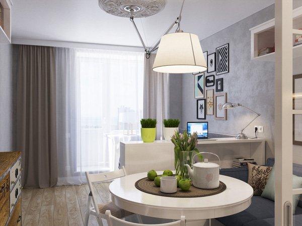 Bất ngờ với thiết kế căn hộ 25m2 với bố trí nội thất cực thông minh thumbnail