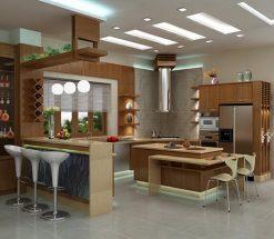 Mẫu nội thất nhà bếp đơn giản rẻ đẹp tạo nên không gian bếp thông minh thumbnail