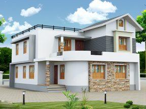 Top 10 mẫu thiết kế nhà 2 tầng đơn giản mà đẹp sang trọng & lộng lẫy thumbnail