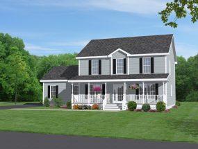 Mẫu thiết kế nhà đẹp 2 tầng ở nông thôn cho năm 2018 thumbnail