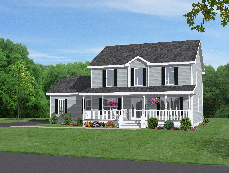 Mẫu thiết kế nhà đẹp 2 tầng ở nông thôn cho năm 2018 post image