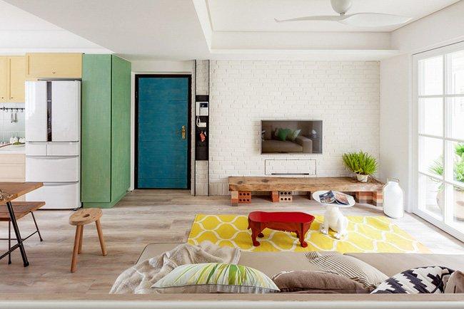 Nội thất căn hộ 25m2 đẹp mê hồn thích hợp cho người độc thân thumbnail