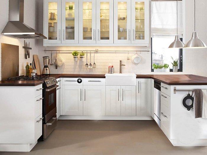 Nội thất phòng bếp đơn giản nhỏ đẹp dành cho nhà ống, nhà chung cư post image