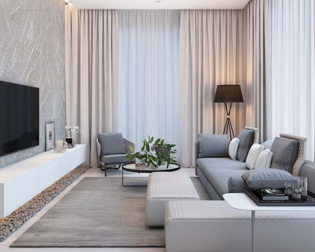 Thiết kế căn hộ 90m2 đơn giản nhưng đẹp và hiện đại tại Moscow thumbnail
