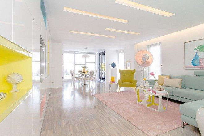 Thiết kế căn hộ chung cư đẹp hiện đại cho nàng độc thân post image