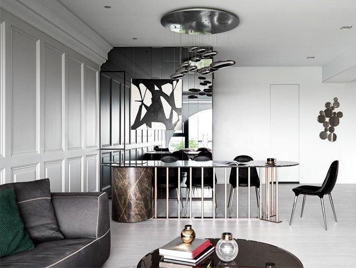 Thiết kế nội thất biệt thự tân cổ điển tiện nghi và thẩm mỹ cao thumbnail