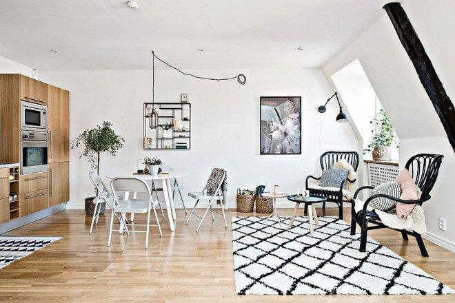 Thiết kế nội thất căn hộ 36m2 đẹp như tranh vẽ cho vợ chồng trẻ thumbnail
