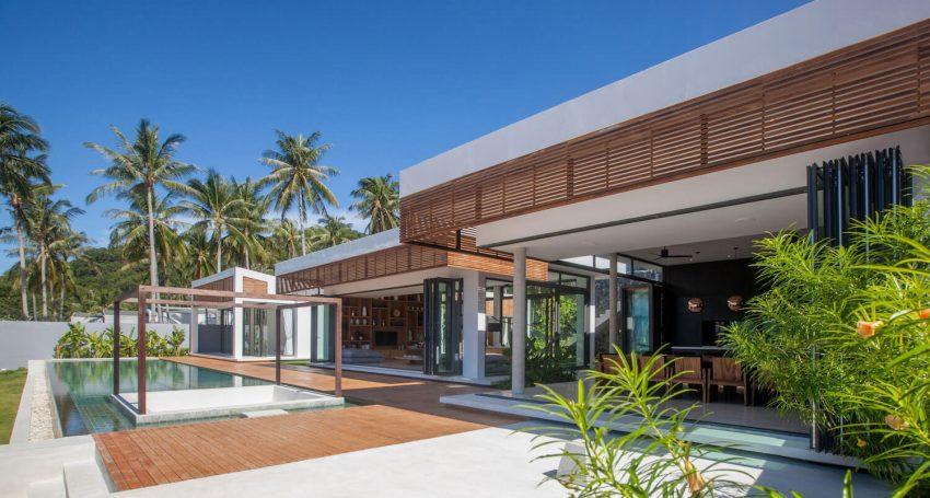 Xu hướng nội thất vật liệu gỗ cho biệt thự biển đẹp lung linh năm 2018 thumbnail