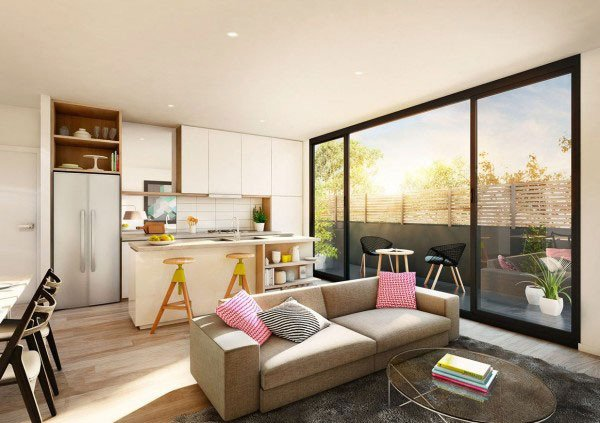 14 gợi ý thiết kế phòng khách cho căn hộ chung cư nhỏ tuyệt đẹp thumbnail