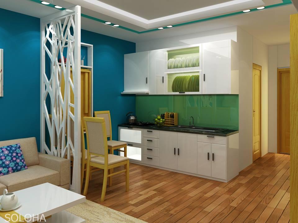 23 mẫu thiết kế nhà bếp cho nhà chung cư nhỏ siêu dễ thương-4