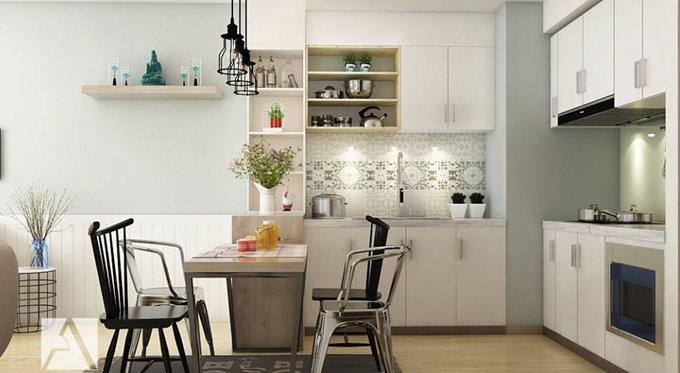 23 mẫu thiết kế bếp cho nhà chung cư nhỏ siêu dễ thương thumbnail