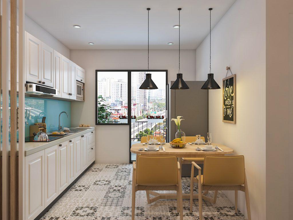 23 mẫu thiết kế nhà bếp cho nhà chung cư nhỏ siêu dễ thương-16