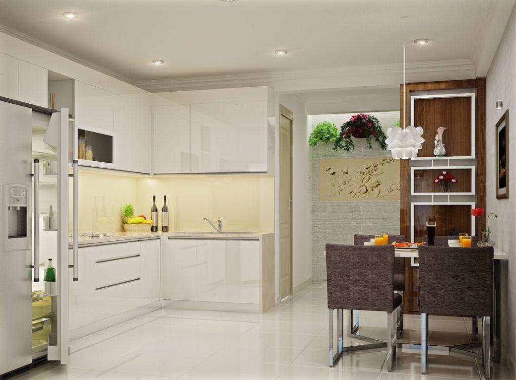 23 mẫu thiết kế nhà bếp cho nhà chung cư nhỏ siêu dễ thương-2