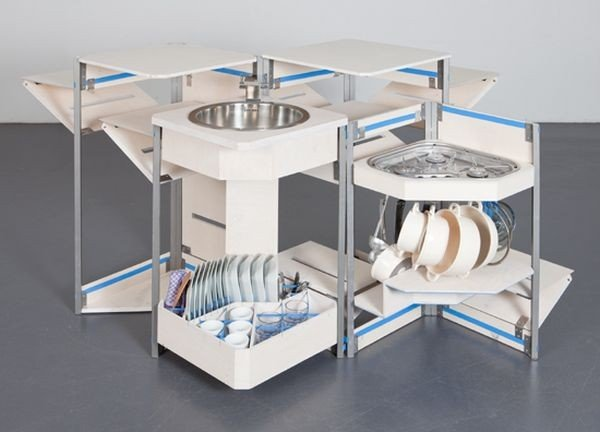 5 mẫu thiết kế bếp siêu nhỏ đa năng cho nhà chật, bạn thấy thế nào? post image