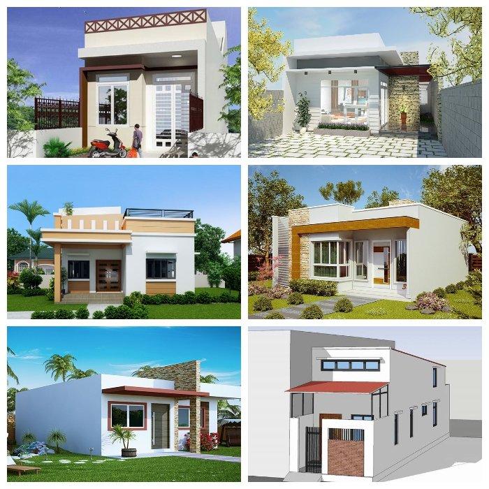 Top 50 hình ảnh mẫu nhà cấp 4 nông thôn đơn giản hiện đại giá rẻ