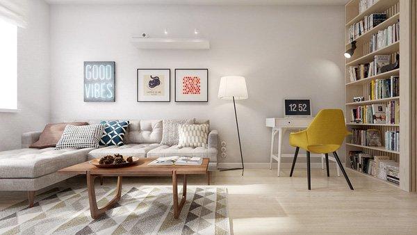 Giải pháp thông minh cho thiết kế nội thất chung cư 60m2 hiện đại thumbnail