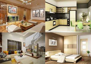 Hướng thiết kế nội thất bếp, phòng ngủ, phòng khách nhà ống năm 2018 thumbnail