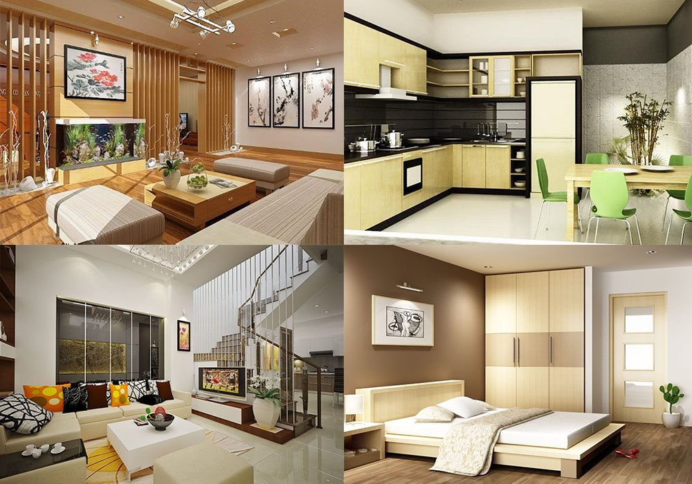 Hướng thiết kế nội thất bếp, phòng ngủ, phòng khách nhà ống năm 2018 post image