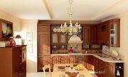 Mẫu phòng bếp cổ điển đẹp dành cho nhà biệt thự