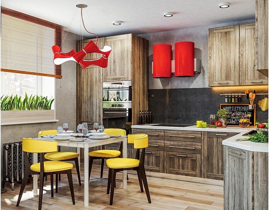 Mẫu thiết kế căn hộ chung cư đẹp màu đỏ cho nam thanh thiếu nhiên thumbnail