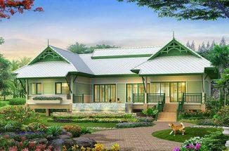 Mẫu thiết kế nhà đẹp 1 tầng 3 phòng ngủ chắc chắn bạn sẽ thích thumbnail