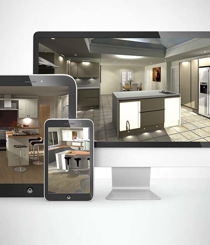 Kitchen Design Plans 3d: Một Số Mẫu Thiết Kế Tủ Bếp 3d đẹp Năm 2019