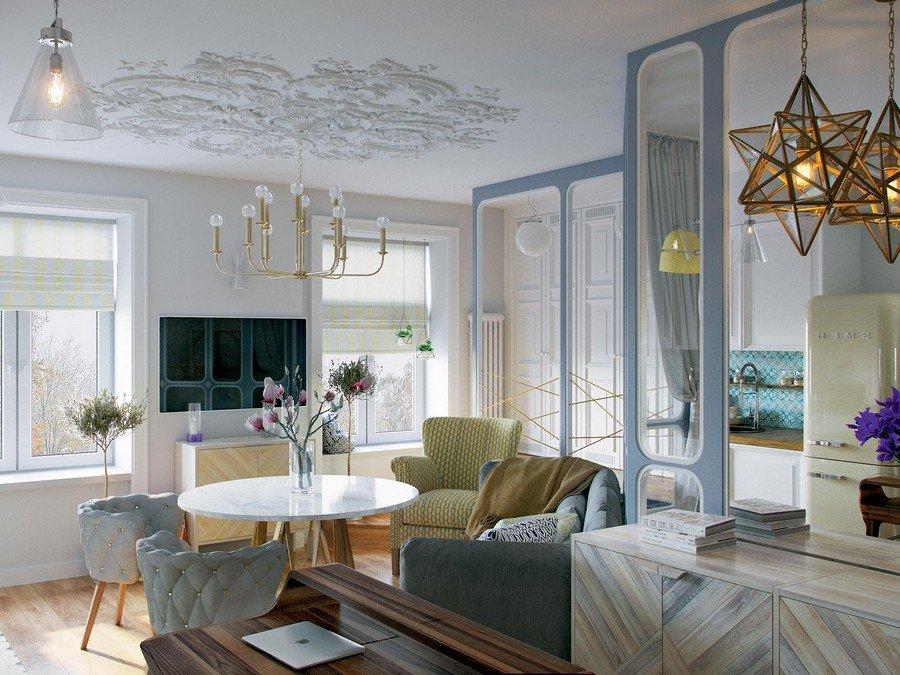 Thiết kế căn hộ nhỏ 2 phòng ngủ thông minh cho nhà nhiều vật dụng post image