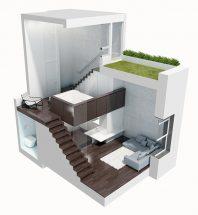 Tư vấn thiết kế nhà nhỏ đẹp 1 tầng 40m2 giá rẻ thumbnail