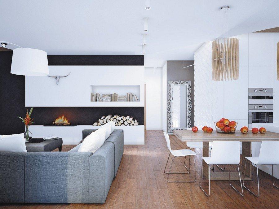 Thiết kế nội thất căn hộ chung cư đẹp lấy cảm hứng từ khách sạn Áo thumbnail