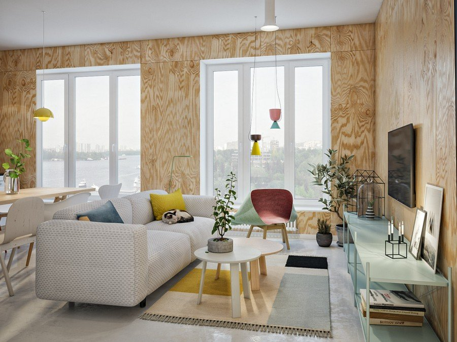Thiết kế nội thất căn hộ nhỏ phong cách Scandinavia đáng ngạc nhiên thumbnail