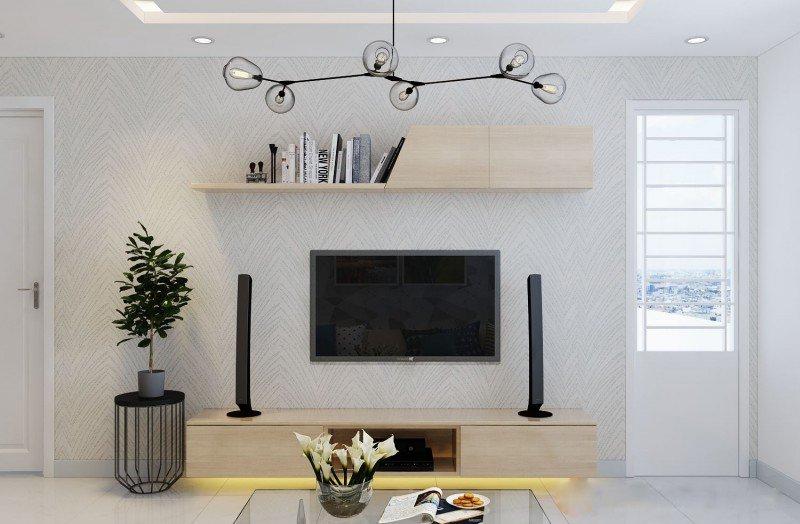 Thiết kế nội thất chung cư cao cấp 60m2 đẹp hiện đại thumbnail