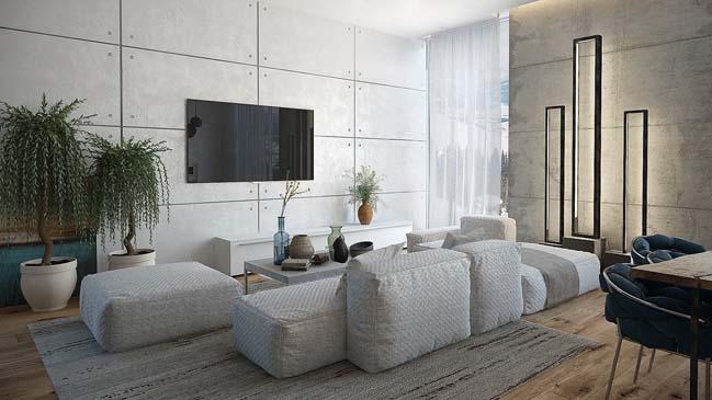 Trào lưu thiết kế nội thất chung cư đẹp hiện đại năm 2018 thumbnail