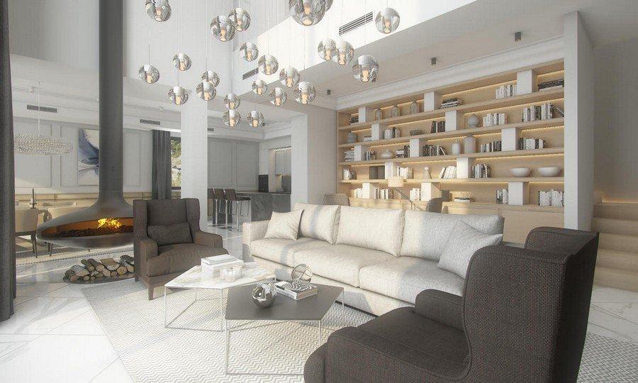 Xu hướng thiết kế nội thất biệt thự 2 tầng phong cách hiện đại năm 2018 thumbnail