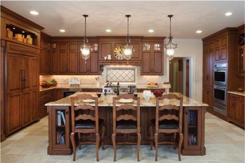 Mách nhỏ mẹo chọn vật liệu gỗ cho tủ bếp