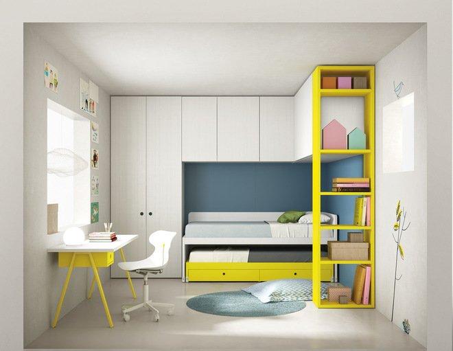 Giải pháp thiết kế nơi lưu trữ đồ đạc phòng ngủ độc đáo thumbnail