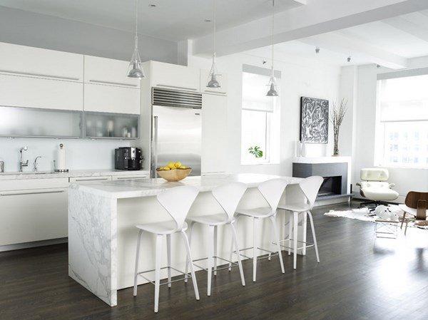 Bộ sưu tập các mẫu thiết kế bếp đẹp màu trắng post image