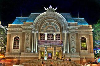 Khám phá kiến trúc nhà hát lớn thành phố Hồ Chí Minh