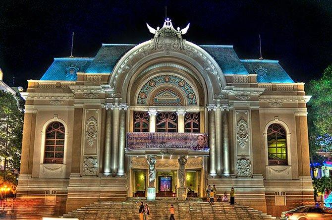 Khám phá kiến trúc nhà hát lớn thành phố Hồ Chí Minh post image