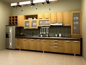 Mẫu bếp chữ I hiện đại cho các không gian bếp nhỏ thumbnail