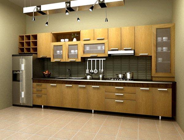 Mẫu bếp chữ I hiện đại cho các không gian bếp nhỏ post image